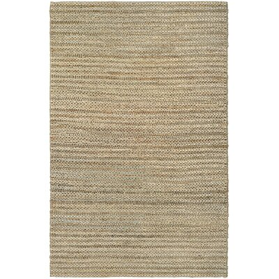 Damia Hand-Crafted Camel Area Rug Rug Size: 53 x 76