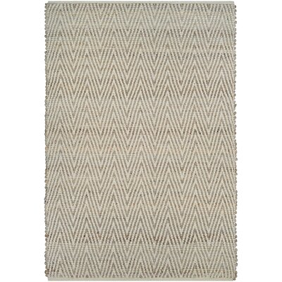 Damiana Hand-Loomed Straw Area Rug Rug Size: Rectangle 4 x 6