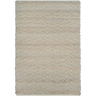 Damiana Hand-Loomed Straw Area Rug Rug Size: 3 x 5