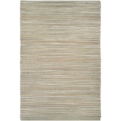 Damiana Hand-Loomed Taupe/Gray/Ivory Area Rug Rug Size: 4 x 6