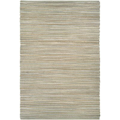 Gloria Hand-Loomed Taupe/Gray/Ivory Area Rug Rug Size: 6 x 9