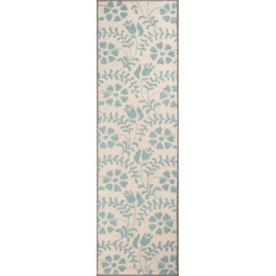 Aliyah Hand-Tufted�Blue Area Rug Rug Size: Runner 23 x 8