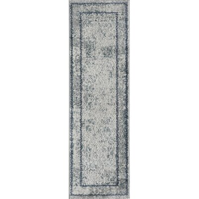 Daisie Blue Area Rug Rug Size: Rectangle 93 x 126