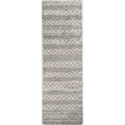 Damiane Gray Area Rug Rug Size: Rectangle 53 x 76