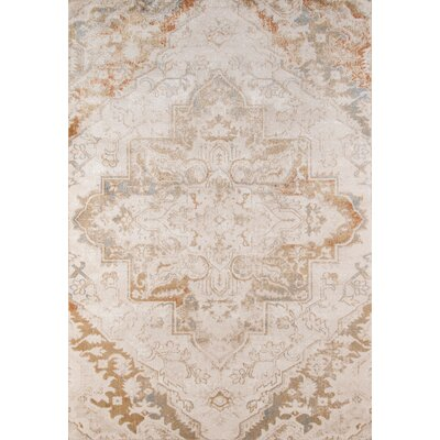 Damien Natural Area Rug Rug Size: Rectangle 93 x 126