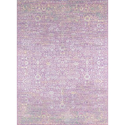 Danica Lavender Area Rug Rug Size: Rectangle 9 x 12