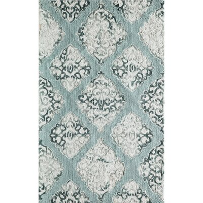 Lucy Hand-Hooked Area Rug Rug Size: Rectangle 5 x 76
