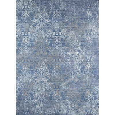 Danica Blue Area Rug Rug Size: Rectangle 5 x 8