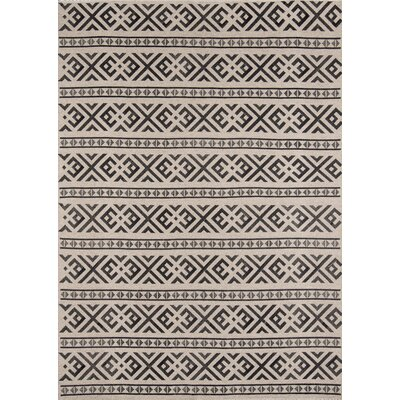 Daniel Hand-Woven Charcoal Area Rug Rug Size: Rectangle 8 x 10