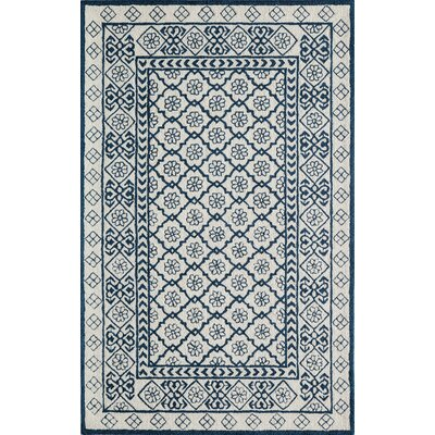 Anaya Hand-Tufted Blue Area Rug Rug Size: Rectangle 39 x 59