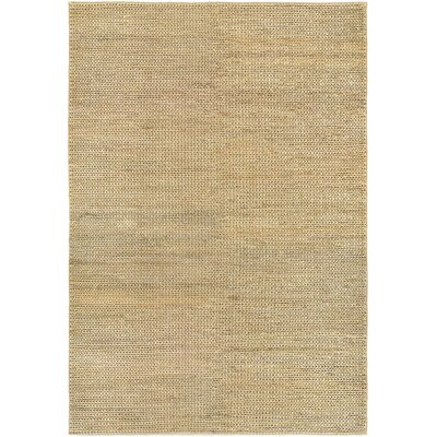 Uhlig Hand Woven Cotton Cream/Natural Area Rug Rug Size: Rectangle 53 x 76