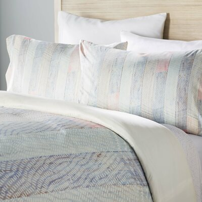 Burgess Striped Duvet Cover Set Size: Twin/Twin XL