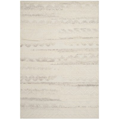 Maffei Ivory Area Rug Rug Size: Rectangle 9 x 12