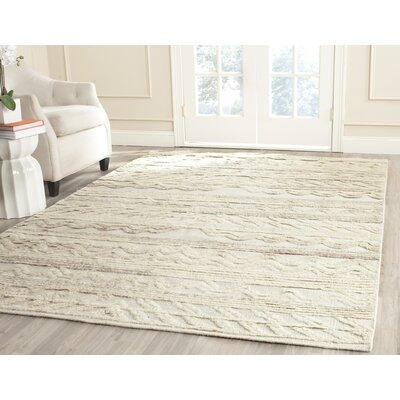 Maffei Ivory Area Rug Rug Size: Rectangle 8 x 10