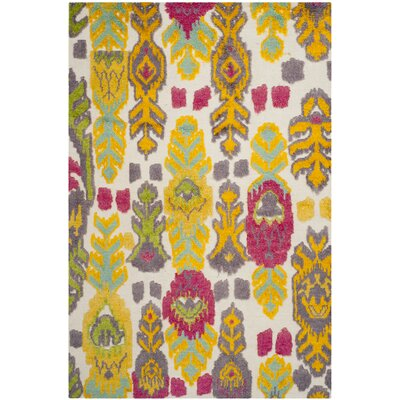 Hawke Multi Colored Area Rug Rug Size: 6 x 9