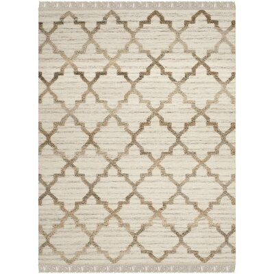 Hawke Natural Rug Rug Size: Rectangle 8 x 10