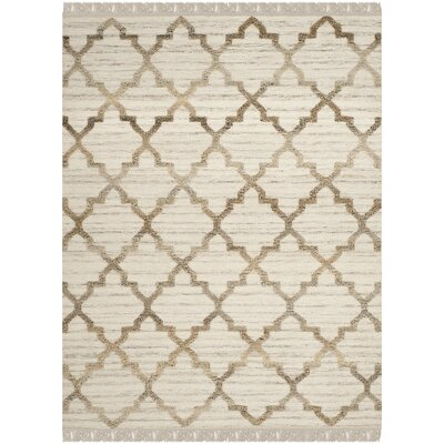 Hawke Natural Rug Rug Size: Rectangle 5 x 8