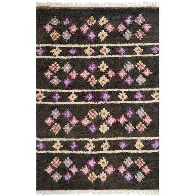 Hawke Multi Colored Rug Rug Size: 9 x 12
