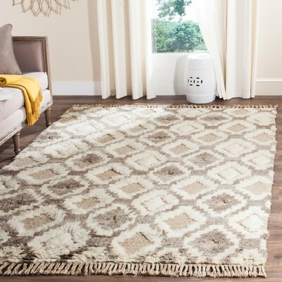 Hawke Natural Area Rug Rug Size: 8 x 10