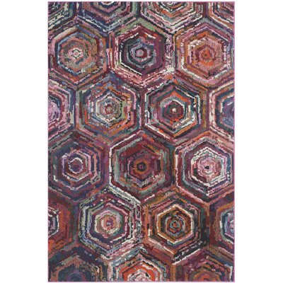 Chana Multi Area Rug Rug Size: 51 x 77