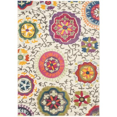 Chana Multi-Colored Area Rug Rug Size: 4 x 57