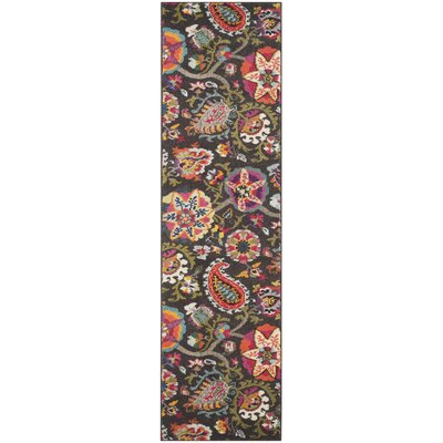 Chana Brown Area Rug Rug Size: Rectangle 4 x 57