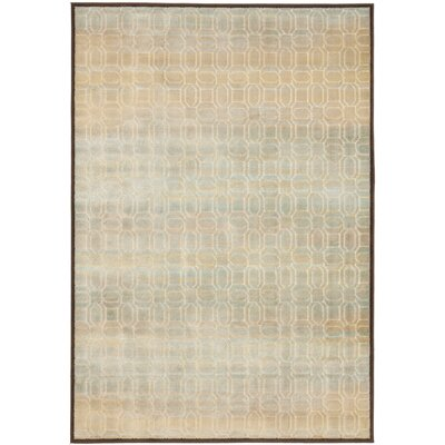 Saint-Michel Creme/Brown Rug Rug Size: Rectangle 53 x 76