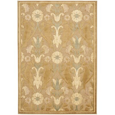 Saint-Michel Beige Area Rug Rug Size: Rectangle 4 x 57