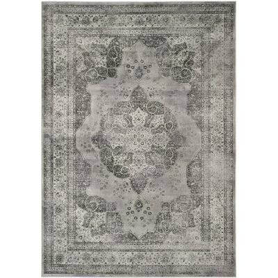 Makenna Gray Area Rug Rug Size: 67 x 92