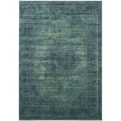 Makenna Turquoise Area Rug Rug Size: Rectangle 8 x 112