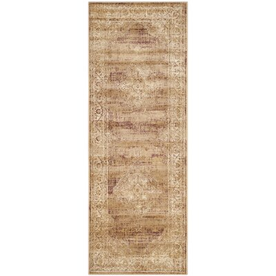Todd Taupe Outdoor Rug Rug Size: Runner 22 x 6