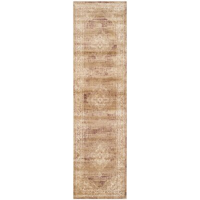 Todd Taupe Outdoor Rug Rug Size: Runner 22 x 8