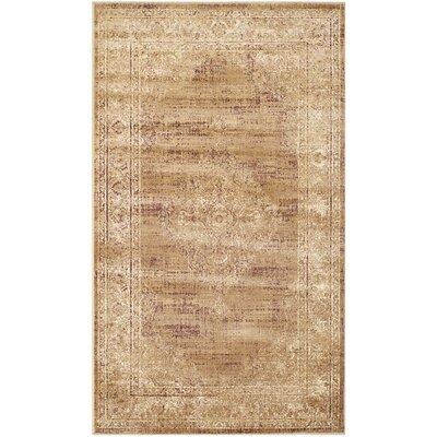 Vishnu Taupe Outdoor Rug Rug Size: 33 x 57