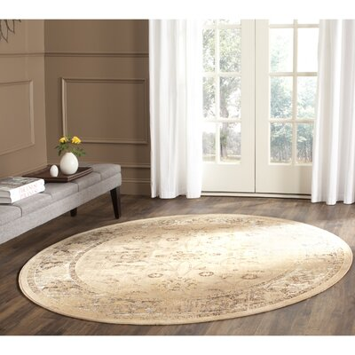 Todd Taupe Area Rug Rug Size: Rectangle 53 x 76