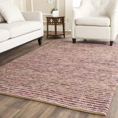 Makhi Purple Area Rug Rug Size: 5 x 8