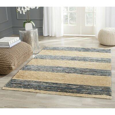 Pinehurst Hand-Knotted Black/Beige Area Rug Rug Size: Rectangle 8 x 10