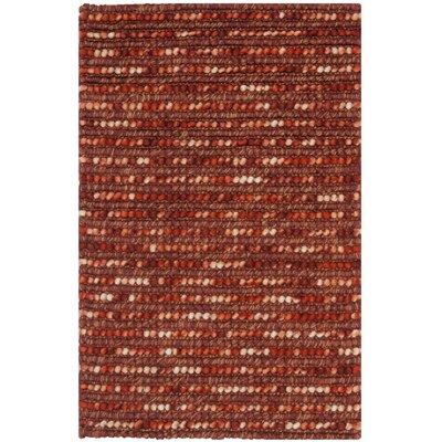 Pinehurst Rust Area Rug Rug Size: 2 x 3