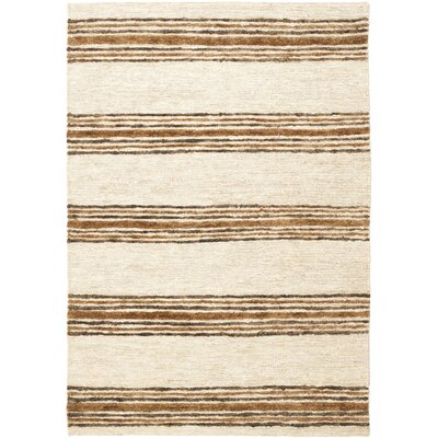 Pinehurst Natural/Rust Area Rug Rug Size: Rectangle 4 x 6