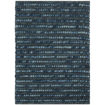 Makhi Dark Blue/Multi Area Rug Rug Size: 5 x 8