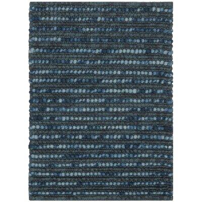 Pinehurst Dark Blue Area Rug Rug Size: 6 x 9