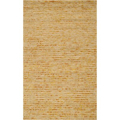 Makhi Gold Area Rug Rug Size: Rectangle 2 x 3