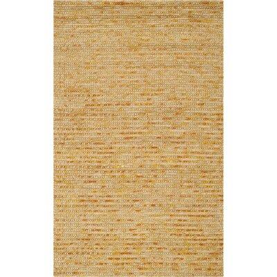 Makhi Gold Area Rug Rug Size: 2 x 3