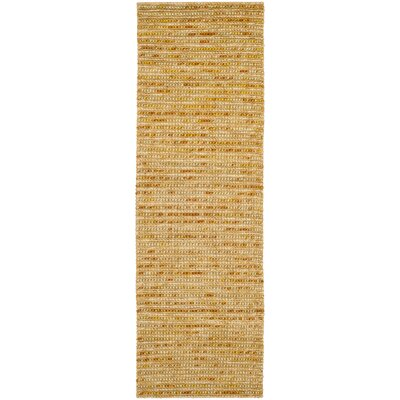 Pinehurst Gold Area Rug Rug Size: Runner 2'6