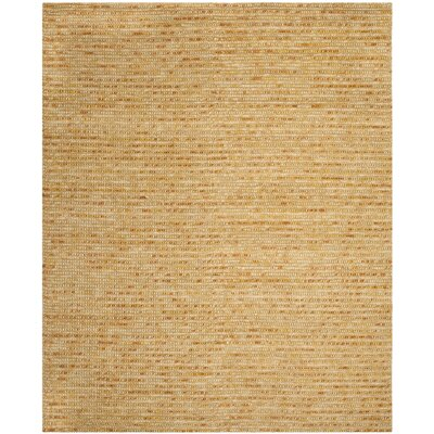 Makhi Gold Area Rug Rug Size: Rectangle 8 x 10