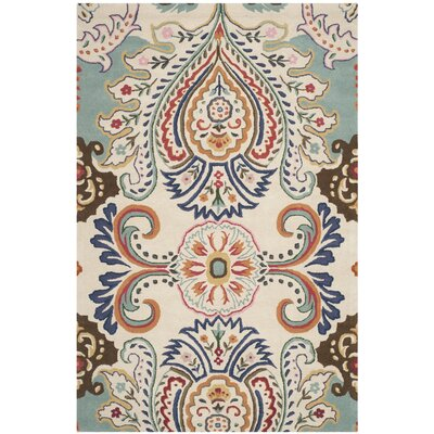 Rudra Blue Area Rug Rug Size: 5 x 8