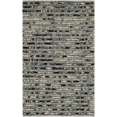 Pinehurst Grey Area Rug Rug Size: 2'6