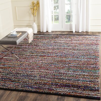 Weber Hand-Woven Blue/Red Area Rug Rug Size: Rectangle 6 x 9