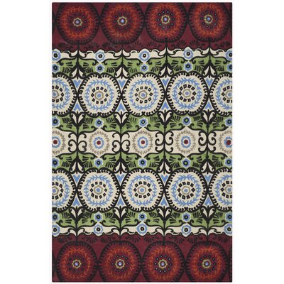 Allison Ivory & Multi Colored Area Rug Rug Size: 5 x 8