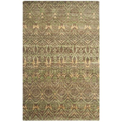 Pinehurst Green/Brown Area Rug Rug Size: Rectangle 5 x 8