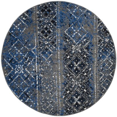 Norwell Silver Area Rug Rug Size: Rectangle 51 x 76